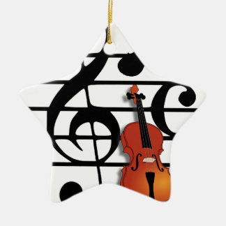 I Am Violin_ Christmas Ornament