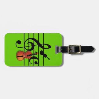 I Am Violin_ Luggage Tag