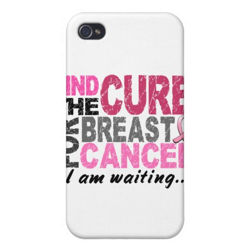 I Am Waiting Breast Cancer iPhone 4/4S Case