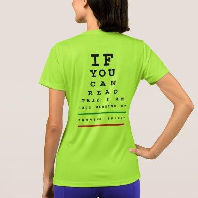 Funny Eye Chart Test Personalised T Shirt Zazzle