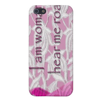 I AM WOMAN COVER FOR iPhone 5