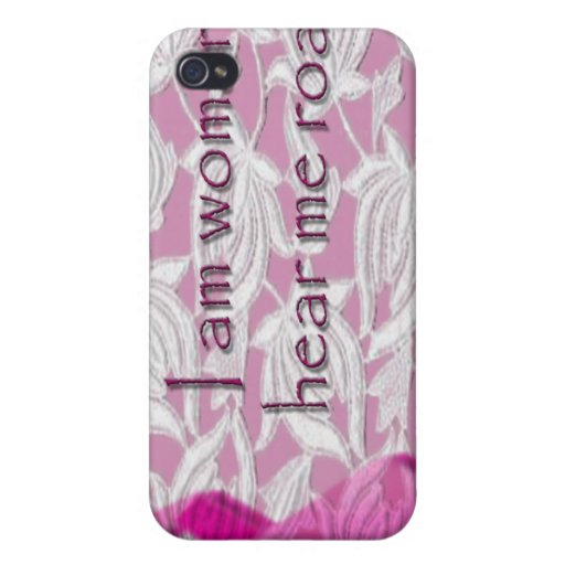 I AM WOMAN iPhone 4/4S CASE
