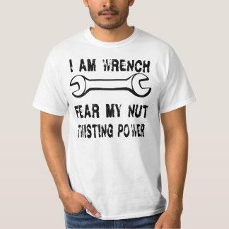 I Am Wrench - black T-Shirt