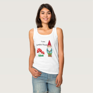 I Am Zombie Food Tank Top