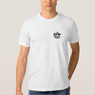 I amndt defensive tackle tee-shirt (small) tee shirts