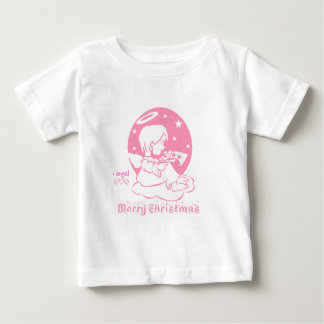 i angel - Merry Christmas t-srhits Baby T-Shirt