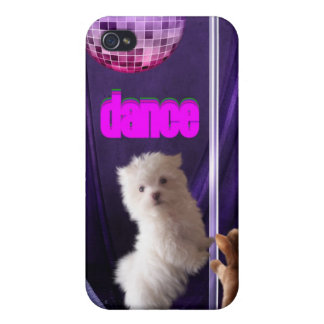 i Animal Fun Cat Dog Dance Disco iPhone 4/4S Cover