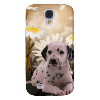 i Animals Dog Flowers Galaxy S4 Case