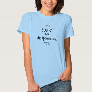 I apologize t shirt