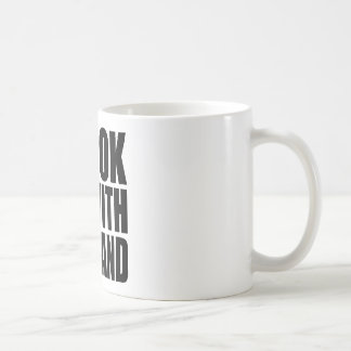 I'M WITH THE BAND - 4 LIGHT Coffee Mug