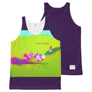 i Art and Designs, Pond Fish I All-Over Print Tank Top