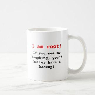 I at the root! coffee mug