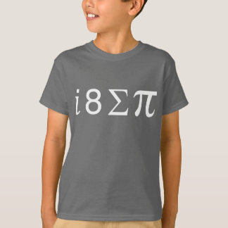 I ate some pi (Math symbols) T-Shirt