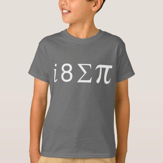 I ate some pi (Math symbols) T-Shirt