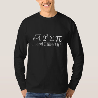 I ate some pie and I liked it Decor T-Shirt
