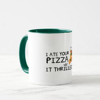 """""""I Ate Your Pizza"""" 11 oz Combo Mug"""