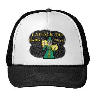 I Attack the Darkness Trucker Hat