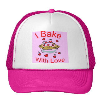 I Bake with Love (1) Trucker Hat
