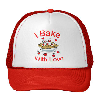 I Bake with Love (2) Trucker Hat