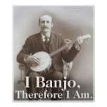 I Banjo Poster