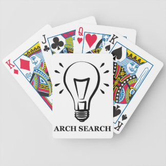 I baralho Arch Search (Bicycle) Bicycle Playing Cards