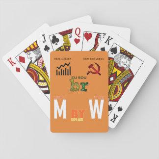 I baralho classic MbyW Meme Edition Playing Cards