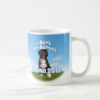 I Bark for Barack, Bo the First Dog Obama Coffee Mug