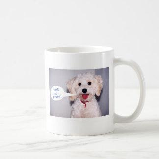 I Bark for Peace - Customized Coffee Mug