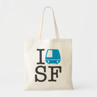 I Bart SF Tote Budget Tote Bag