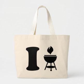 I BBQ - Grill Canvas Bag