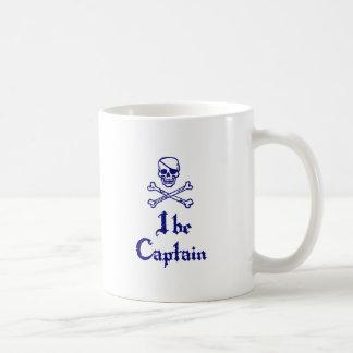 I be Captain Basic White Mug