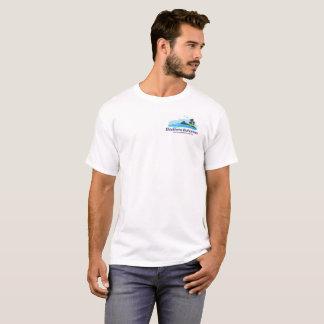 I Be Right Back T-Shirt with Eleuthera Bahamas log