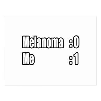 I Beat Melanoma Scoreboard Postcards