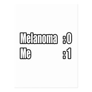 I Beat Melanoma Scoreboard Postcard
