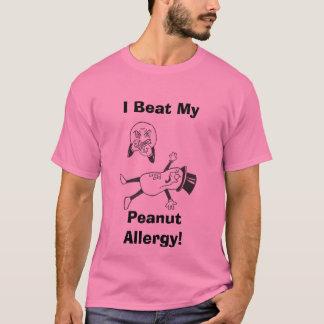 I Beat My, Peanut Allergy! T-Shirt