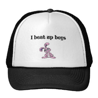 I beat up boys hat