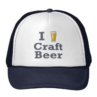 I [beer] Craft Beer Mesh Hats