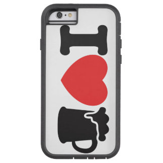 I ♥ Beer Tough Xtreme iPhone 6 Case
