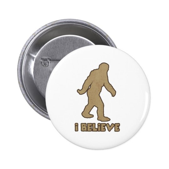 I Believe 6 Cm Round Badge