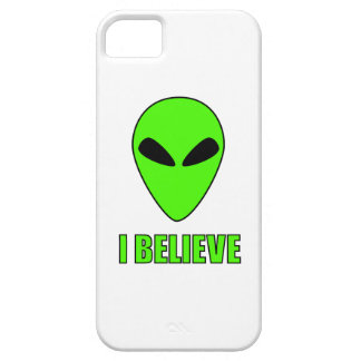 I Believe - Alien iPhone case Case For The iPhone 5