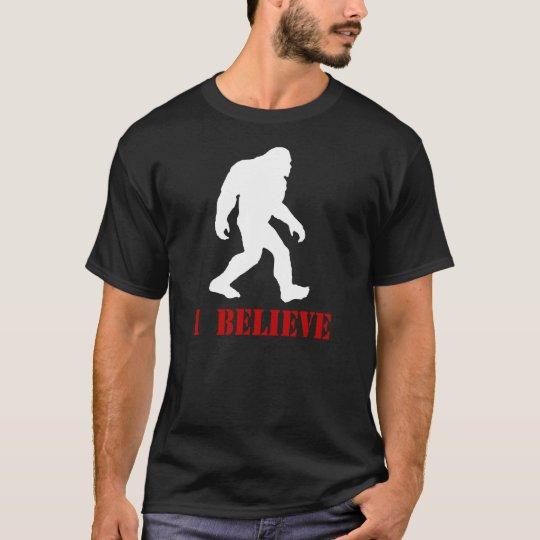 I Believe - Bigfoot Sasquatch Retro T-Shirt