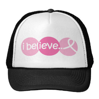 I Believe - Breast Cancer Awareness Cap