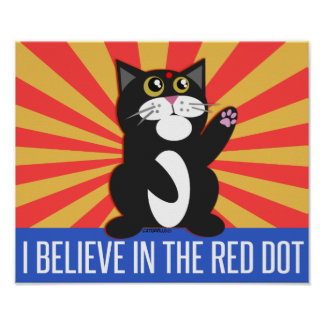 I Believe Cat Poster