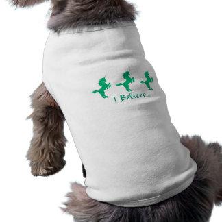 I Believe Green Unicorn Design Shirt
