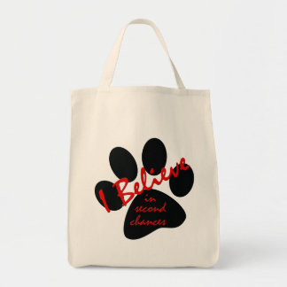 I Believe Grocery/Tote Bag