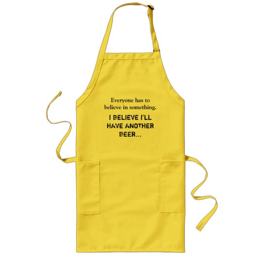 I believe I'll have a BEER Long Apron