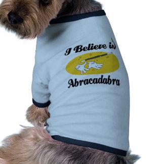 i believe in abracadabra ringer dog shirt