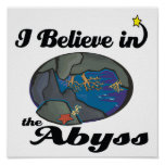 i believe in abyss poster