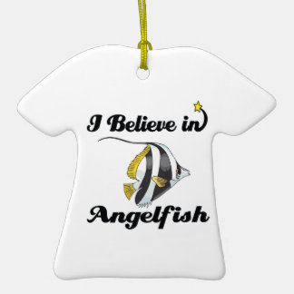 i believe in angelfish ceramic T-Shirt decoration