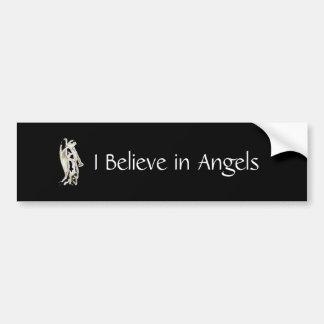 I Believe in Angels Bumper Sticker